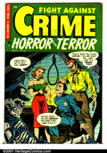 Golden Age (1938-1955):Crime, Fight Against Crime #18 (Story Comics, 1953). Condition: FN+....