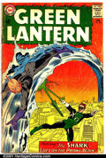 Silver Age (1956-1969):Superhero, Green Lantern (2nd Series) #28 (DC, 1964). Condition: GD. Coveralmost detached....