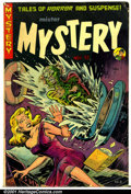 Golden Age (1938-1955):Horror, Mister Mystery #8 (Aragon Magazines, Inc., 1952). Condition: VG....