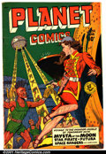 Golden Age (1938-1955):Science Fiction, Planet Comics #59 (Fiction House, 1949). Condition: VG+....