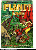 Golden Age (1938-1955):Science Fiction, Planet Comics #73 (Fiction House, 1953). Condition: VG. Finalissue....