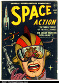 Golden Age (1938-1955):Science Fiction, Space Action #2 (Ace, 1952). Condition: VG....
