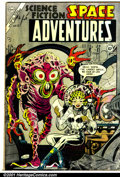 Golden Age (1938-1955):Science Fiction, Space Adventures #12 (Charlton, 1954). Condition: VG....