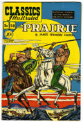 "Golden Age (1938-1955):Classics Illustrated, Classics Illustrated #58 The Prairie - Davis Crippen (""D"" Copy)pedigree (Gilberton, 1949) Condition: VF+...."