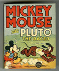 Platinum Age (1897-1937):Miscellaneous, Big Little Book #1128 Mickey Mouse (Whitman, 1936) Condition:VF/NM....
