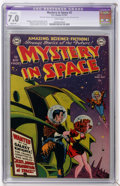 Golden Age (1938-1955):Science Fiction, Mystery in Space #2 (DC, 1951) CGC Apparent FN/VF Slight (P) 7.0White pages....