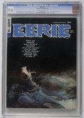 Magazines:Horror, Eerie #7 (Warren, 1967) CGC NM+ 9.6 Off-white to white pages. Frank Frazetta cover. Interior art by Gray Morrow, Gene Colan,...