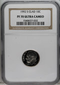 Proof Roosevelt Dimes: , 1992-S 10C Clad PR70 Deep Cameo NGC. NGC Census: (148/0). PCGSPopulation (83/0). Numismedia Wsl. Price for NGC/PCGS coin ...