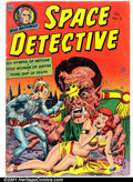 Golden Age (1938-1955):Science Fiction, Space Detective #3 (Avon, 1952). Condition: VG....