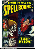 Golden Age (1938-1955):Horror, Spellbound #18 (Atlas, 1953). Condition: VG-....