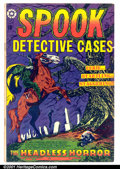 Golden Age (1938-1955):Horror, Spook 22 (#1) (Star Publications, 1953). Condition: VG+. Cover byL.B. Cole....