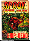 Golden Age (1938-1955):Horror, Spook #27 (Star Publications, 1954). Condition: VG....