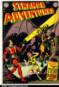 Golden Age (1938-1955):Science Fiction, Strange Adventures #18 (DC, 1952). Condition: VG-....