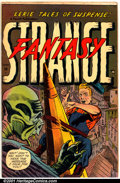Golden Age (1938-1955):Horror, Strange Fantasy #6 (Farrell, 1953). Condition: VG+....
