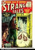 Golden Age (1938-1955):Horror, Strange Tales (1st Series) #37 (Atlas, 1955). Condition: GD+....