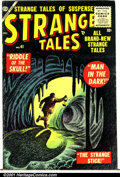 Golden Age (1938-1955):Horror, Strange Tales (1st Series) #41 (Atlas, 1955). Condition: VG....