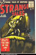 Silver Age (1956-1969):Horror, Strange Tales (1st Series) #50 (Atlas, 1956). Condition: VG....
