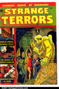 Golden Age (1938-1955):Horror, Strange Terrors #1 (St. John, 1952). Condition: GD/VG....