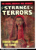 Golden Age (1938-1955):Horror, Strange Terrors #4 (St. John, 1952). Condition: VG....