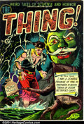 Golden Age (1938-1955):Horror, The Thing! #4 (Capitol, 1952). Condition: GD+....