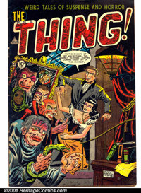The Thing! #8 (Capitol, 1953). Condition: VG
