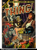 Golden Age (1938-1955):Horror, The Thing! #11 (Capitol, 1953). Condition: GD; water staining oncover and interior paper....
