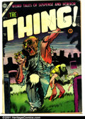 Golden Age (1938-1955):Horror, The Thing! #16 (Capitol, 1954). Condition: VG/FN....