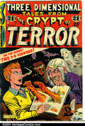 Golden Age (1938-1955):Horror, Three Dimensional Tales from the Crypt of Terror #2 (EC, 1954).Condition: GD. No glasses....