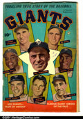 Golden Age (1938-1955):Non-Fiction, Thrilling True story of the Baseball Giants #nn (Fawcett, 1952).Condition: VG....