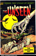 Golden Age (1938-1955):Horror, The Unseen #8 (Standard, 1953). Condition: VG....