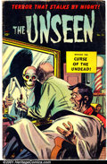 Golden Age (1938-1955):Horror, The Unseen #15 (Standard, 1954). Condition: GD+....