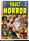 Golden Age (1938-1955):Horror, Vault of Horror #28 (EC, 1953). Condition: VG....
