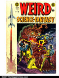 Golden Age (1938-1955):Science Fiction, Weird Science-Fantasy (EC) #27 (EC, 1955). Condition: VG+....