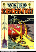 Golden Age (1938-1955):Science Fiction, Weird Science-Fantasy (EC) #28 (EC, 1955). Condition: GD....
