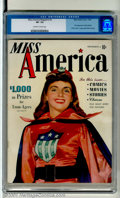 Golden Age (1938-1955):Superhero, Miss America Magazine #2 (Timely, 1944). First issue for this title features the first appearance of Patsy Walker and a very...