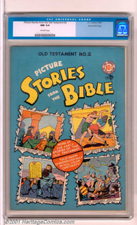 Picture Stories from the Bible #2: Old Testament Edition Gaines File pedigree (EC, 1943). A stunning copy of this 2nd is...
