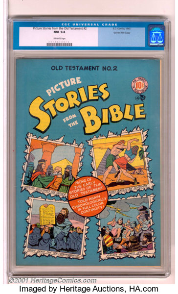 Picture Stories from the Bible #2: Old Testament Edition Gaines File