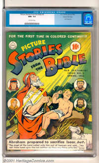 Picture Stories from the Bible #3: Old Testament Gaines File pedigree (DC / EC, 1943). An outstanding copy of this hard-...