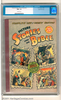 "Picture Stories from the Bible: Complete ""Life of Christ"" Edition Gaines File pedigree (DC / EC, 1944). Large..."