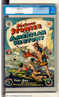 Golden Age (1938-1955):Non-Fiction, Picture Stories From American History #1 Gaines File pedigree 8/11(EC, 1946). First issue of this title depicts the period ...