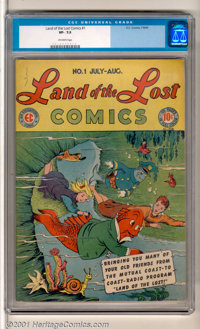 Land of the Lost #1 (EC, 1946). This whimsical Max Gaines-era EC humor book was based on the popular Mutual Radio series...