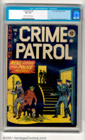 Golden Age (1938-1955):Crime, Crime Patrol #9 (EC, 1948). Cool crime stuff from EC, with a terrific cover. This is a solid low-grade copy, with moderate ...