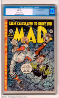 Golden Age (1938-1955):Humor, Mad #2 Gaines File pedigree 3/12 (EC, 1952). An excellent example of this rare book. Flat, tight spine, sharp corners, fabul...
