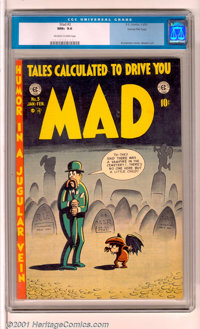 Mad #3 Gaines File pedigree 3/12 (EC, 1953). One of the most trend-setting comics ever published, MAD has become a cultu...