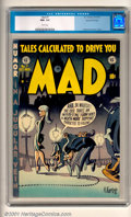 Golden Age (1938-1955):Humor, Mad #7 Gaines File pedigree 3/12 (EC, 1953). More MADness from EC regulars Wood, Elder, and Severin, and six pages of early ...
