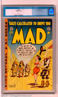 Golden Age (1938-1955):Humor, Mad #9 Gaines File pedigree 3/12 (EC, 1954). A hilarious Kurtzman cover leads off this classic issue of MAD. This is the...
