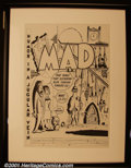 Original Comic Art:Covers, Bob Clarke - Original Art Cover Recreation of Mad #1. Bob Clarke was an incredibly prolificMad artist for many years. He...