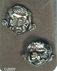 Mad Cufflinks (EC, 1957). Mad Magazine began offering five styles of jewelry manufactured by Astrahan of New York in Jun...