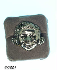 Mad Scatter/Lapel Pin (EC, 1957). Mad Magazine began offering five styles of jewelry manufactured by Astrahan of New Yor...