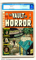 Golden Age (1938-1955):Horror, Vault of Horror #21 Gaines File pedigree 9/12 (EC, 1951). Superhigh grade Gaines File pedigree Copy of this classic comic. ...